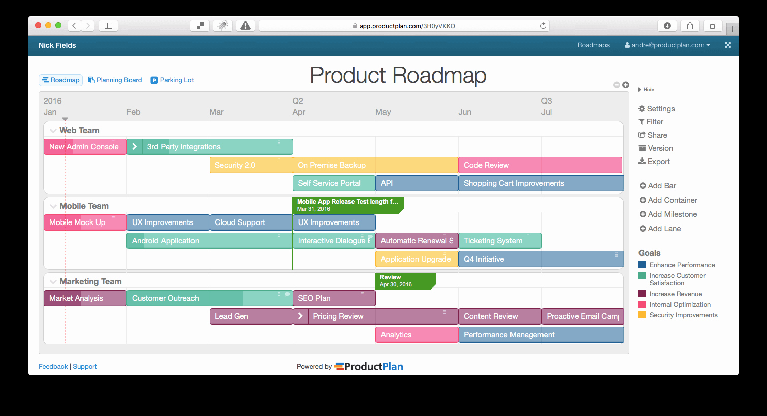 Technology Roadmap Template Excel Beautiful Embed Your Roadmap Directly Into Ms Point