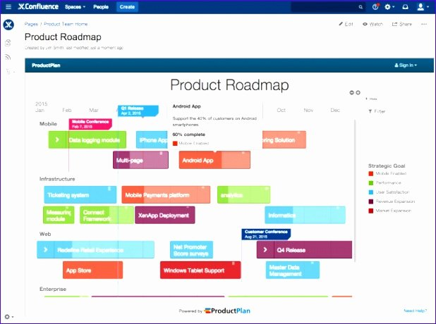Technology Roadmap Template Excel Elegant 6 Roadmap Excel Template Free Exceltemplates