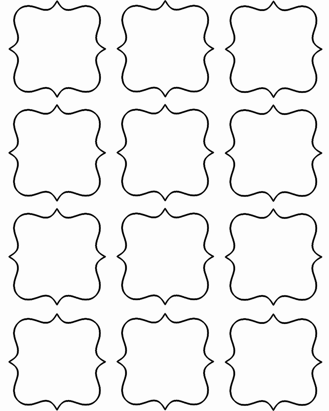 Template for Gift Tags Awesome Doodlecraft Freebie Week Gift Tags and Labels