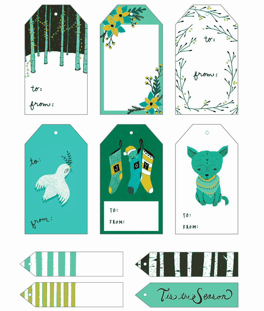 Template for Gift Tags Elegant 5 Gift Tag Templates to Create A Personalized Gift Tag