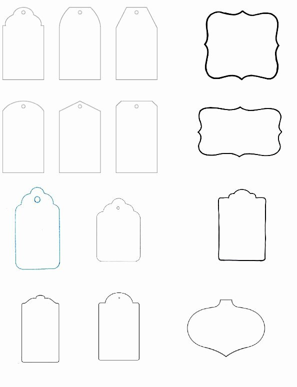 Template for Gift Tags Fresh Blank T Tag Templates the Art Of Ting