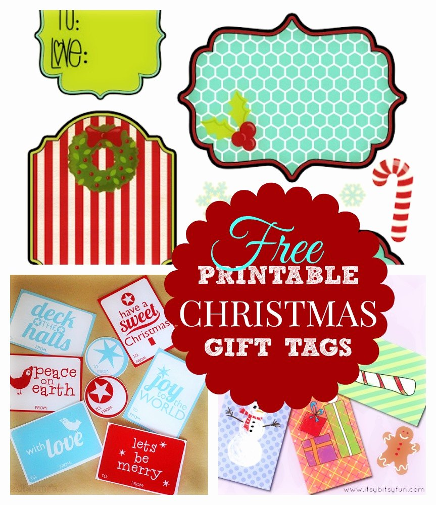 Template for Gift Tags Lovely Printable Christmas Gift List What Mommy Does