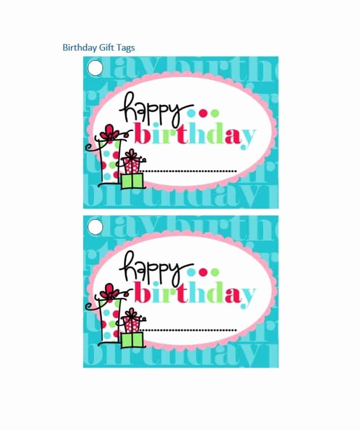 Template for Gift Tags Luxury 44 Free Printable Gift Tag Templates Template Lab