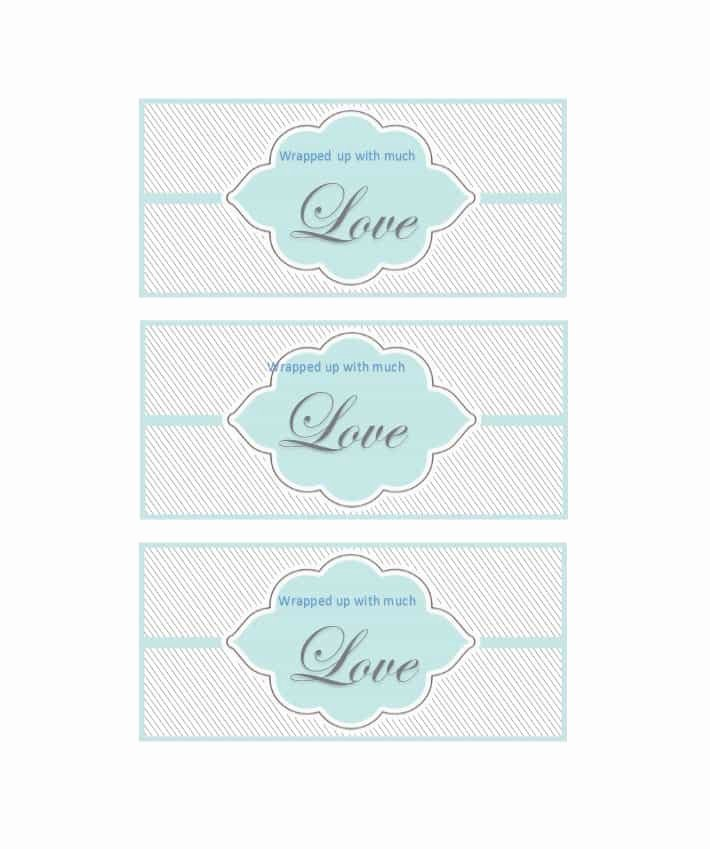 Template for Gift Tags Unique 44 Free Printable Gift Tag Templates Template Lab