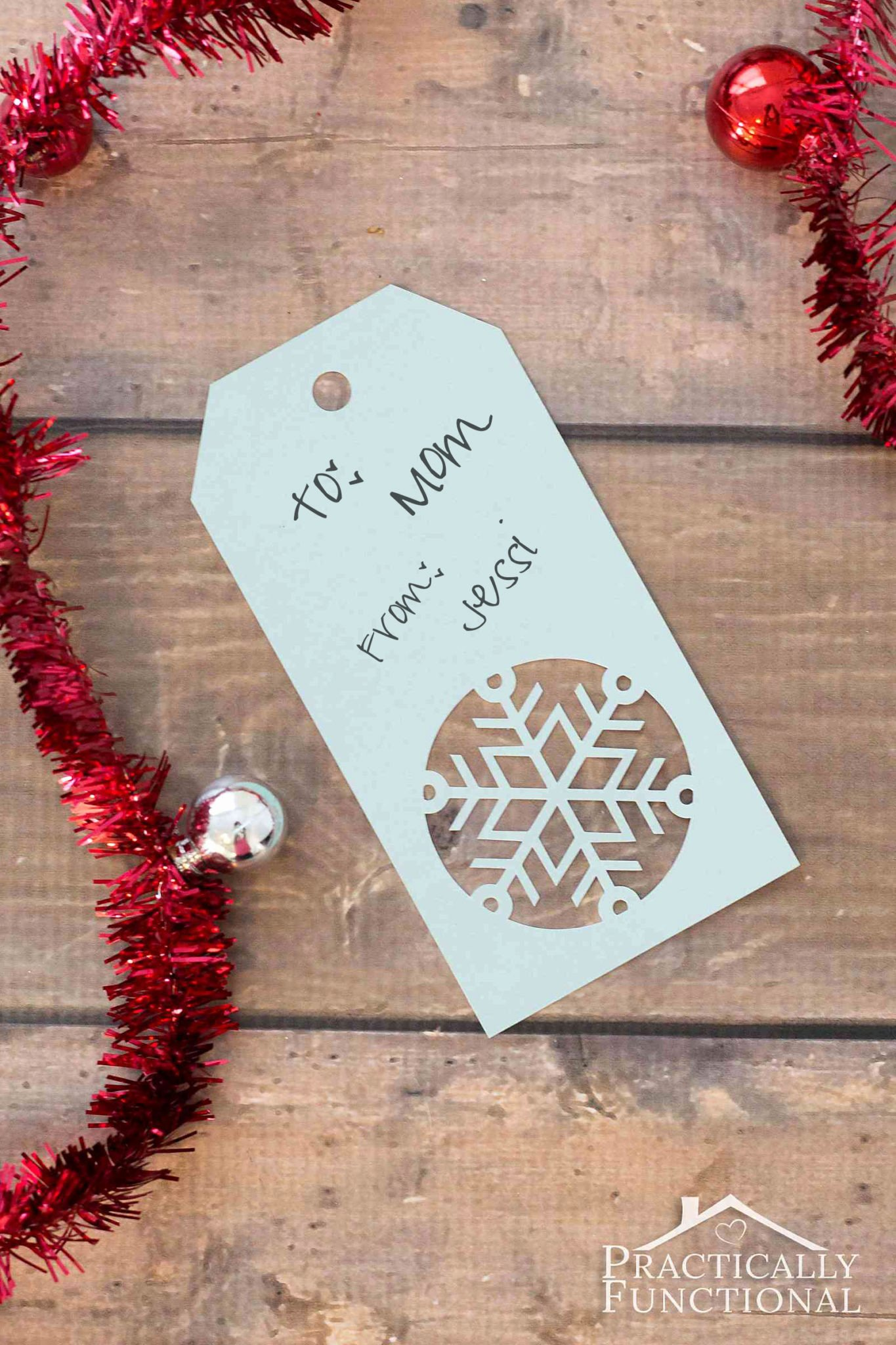 Template for Gift Tags Unique Handmade Snowflake Christmas Gift Tags Free Template