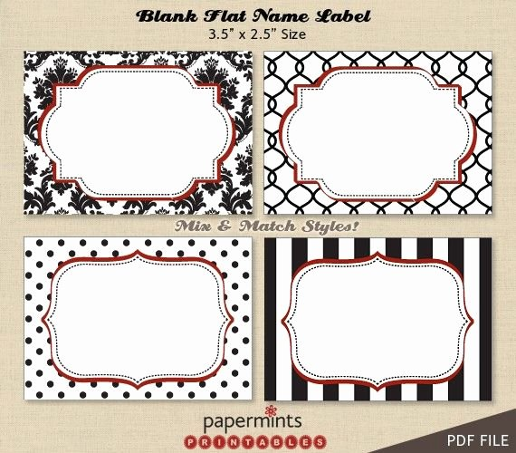 Template for Name Tags Awesome Printable Padges