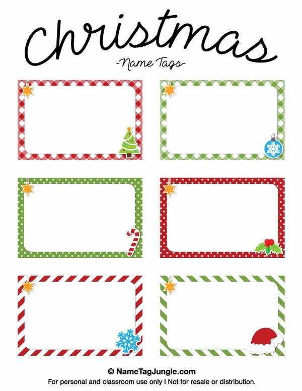 Template for Name Tags Best Of Best 25 Christmas Name Tags Ideas On Pinterest