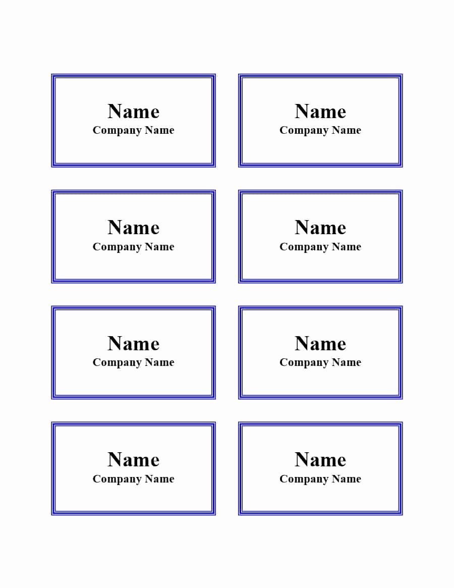 Template for Name Tags New 47 Free Name Tag Badge Templates Template Lab