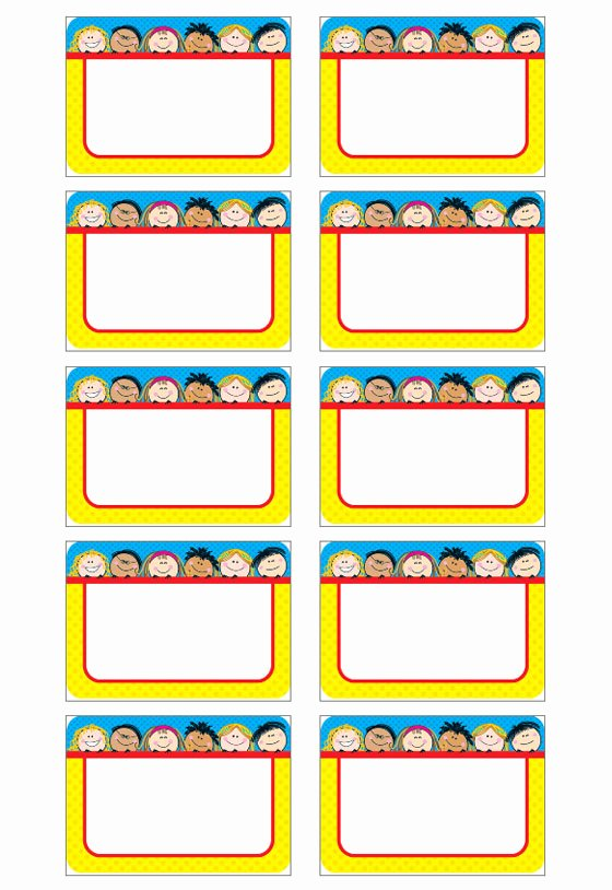 Template for Name Tags New Name Tag Template