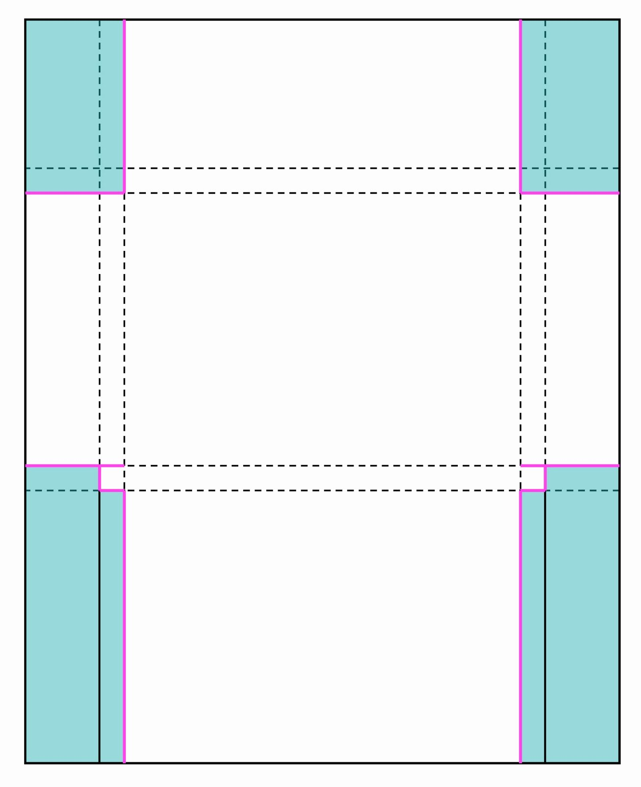 Template for Note Cards Elegant Perforated Note Cards & Card Set Envelope Tutorial