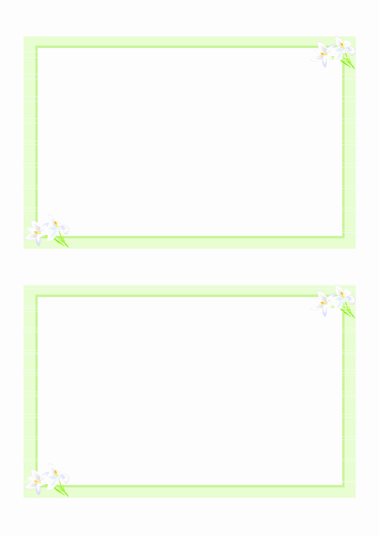 Template for Note Cards Fresh 8 Best Of Printable Blank Pledge Card Templates