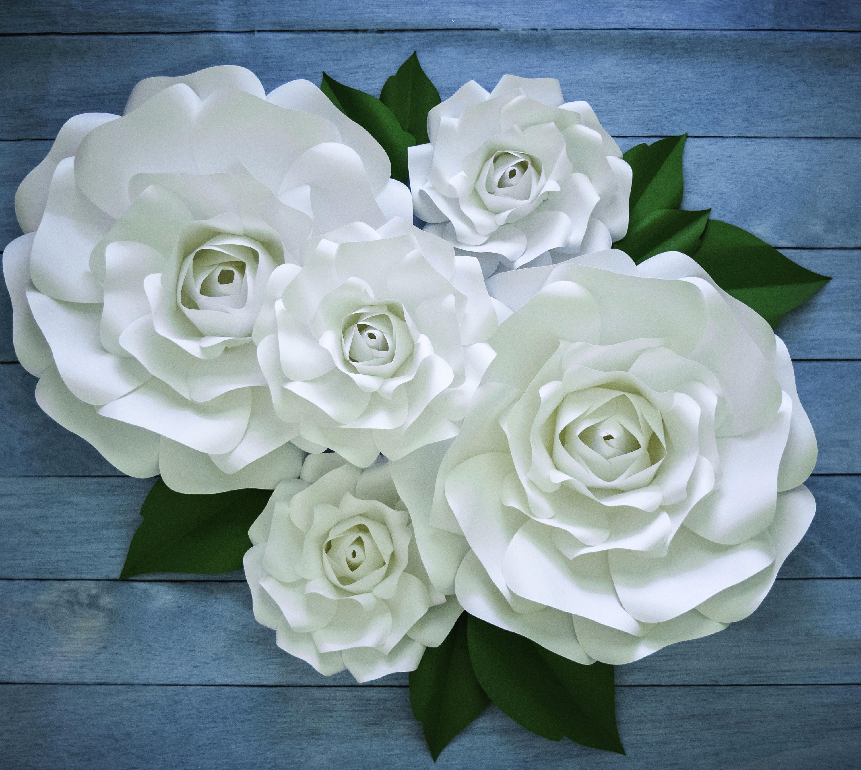 Template for Paper Flowers Awesome Paper Rose Template Giant Paper Flower Printable