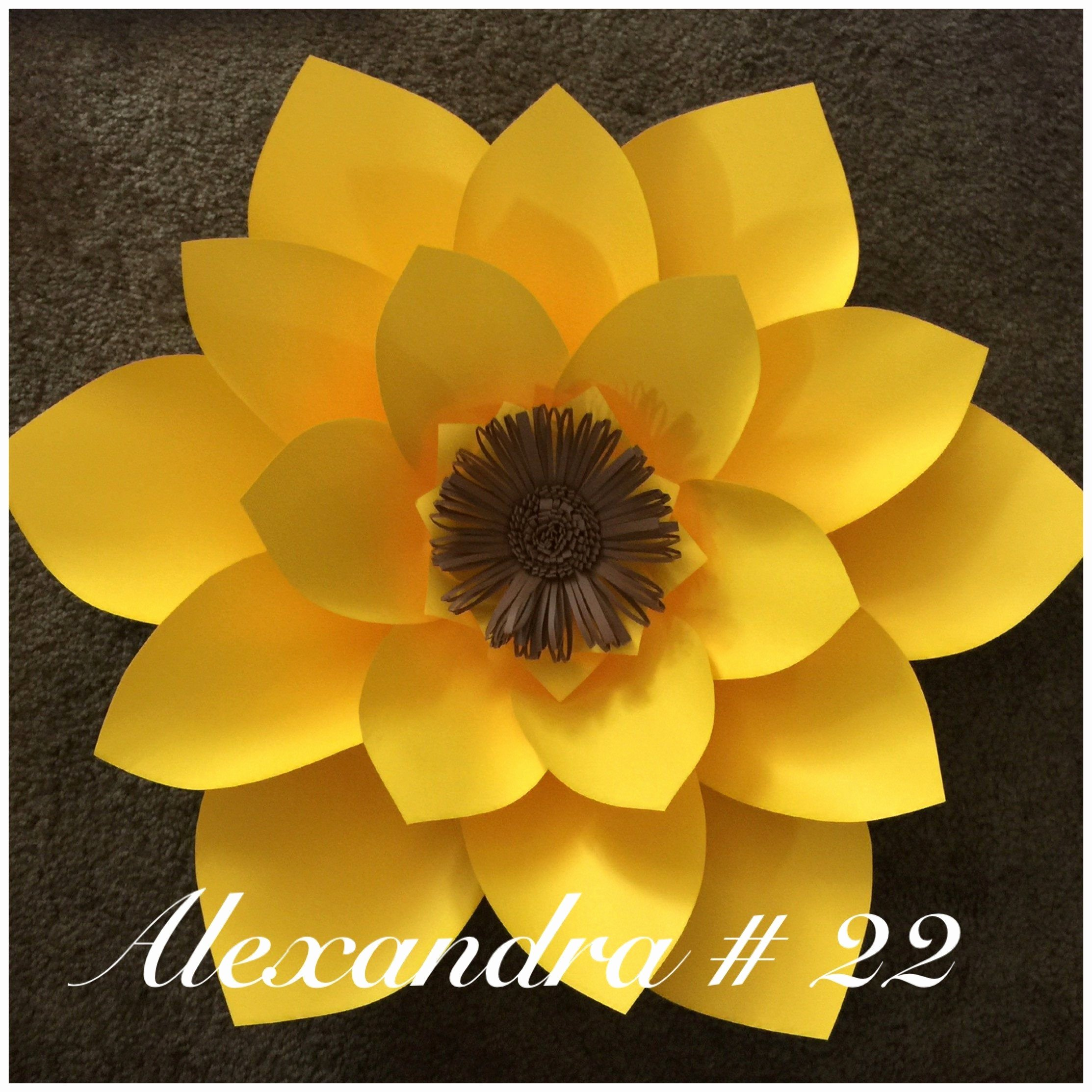 Template for Paper Flowers Beautiful Paper Flower Template 22 Flowers Templates