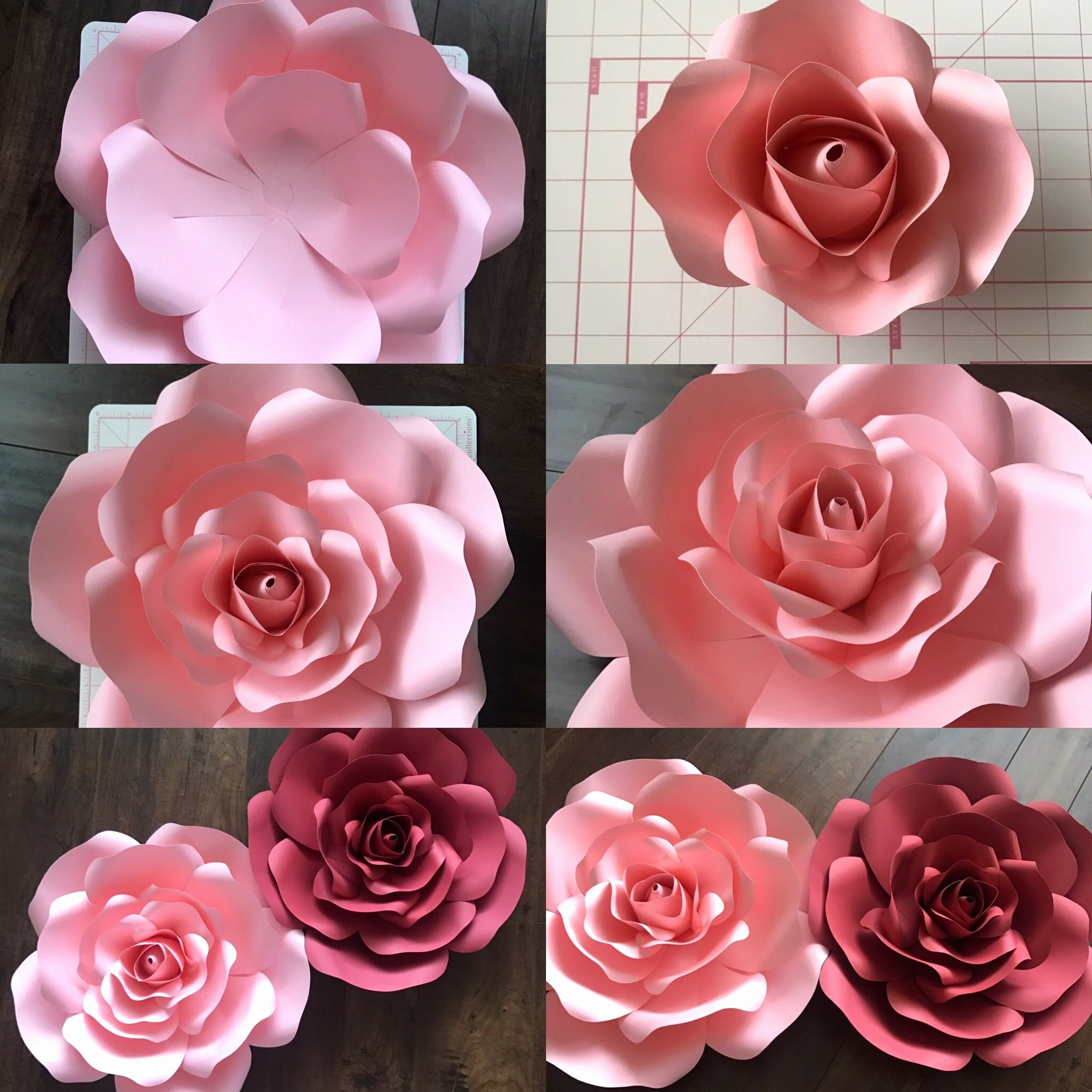 Template for Paper Flowers Unique Free Template and Tutorial On Ann Neville Design Blog