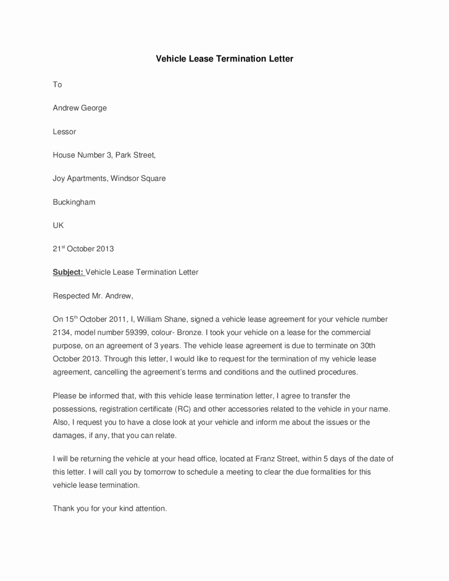 lease termination form