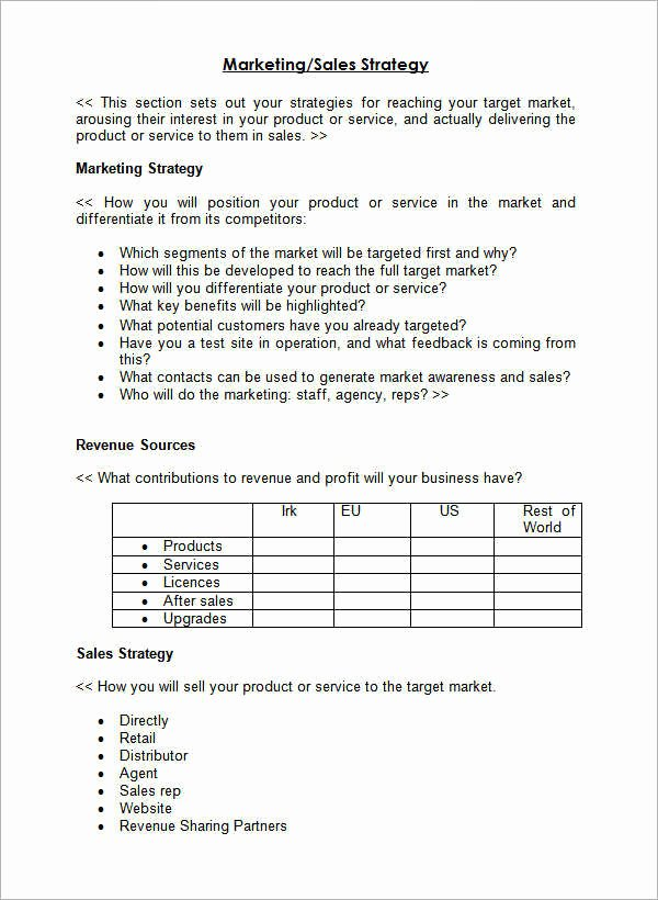 Territory Management Plan Template Awesome 10 11 Sales Territory Planning Template