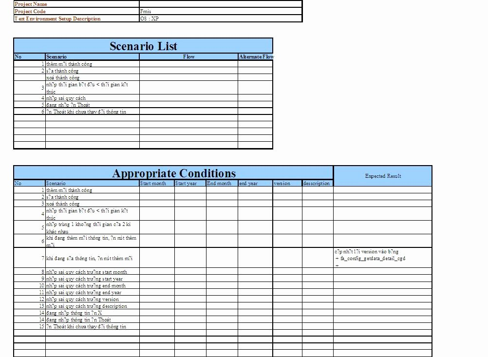 Test Case Template Excel Awesome Test Case Template Excel – thedl