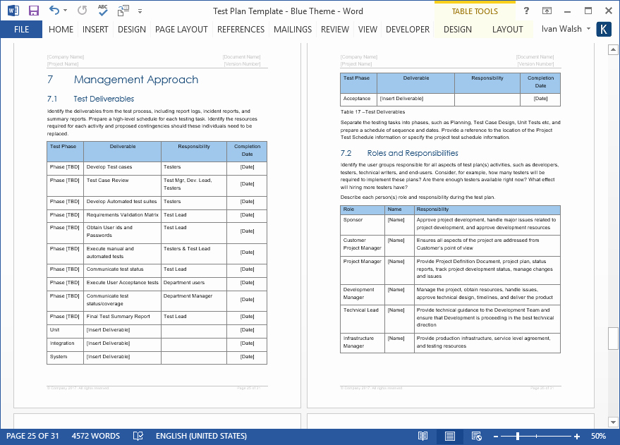 Test Plan Template Excel Lovely Test Plan – Download Ms Word & Excel Template