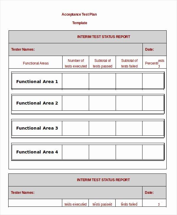 Test Plan Template Excel Unique 17 Test Plan Templates