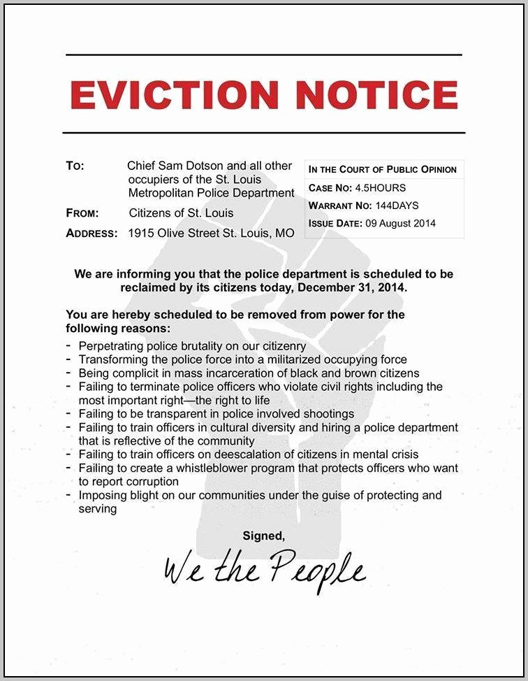 Texas Eviction Notice Template Luxury Eviction Notice Template Texas Business Notice Templates