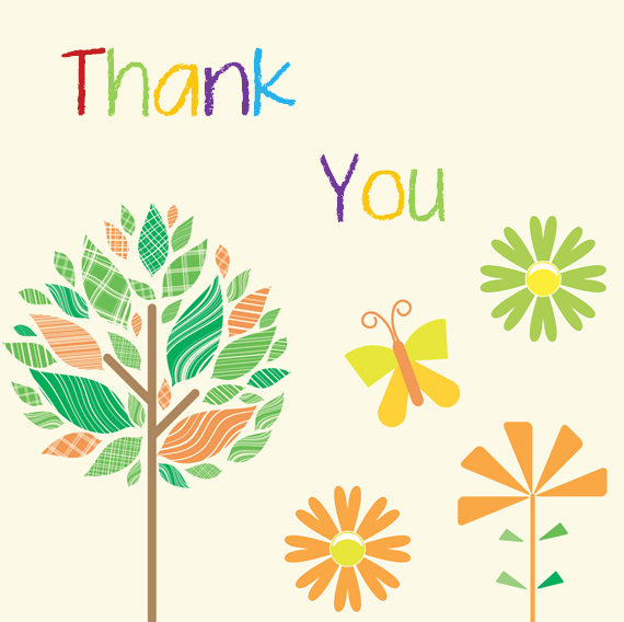 Thank You Postcard Template Beautiful Thank You Card Template 6 Beautiful Designs for Word