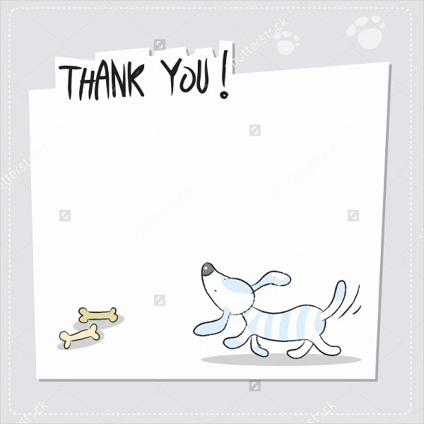 Thank You Postcard Template Best Of 11 Funny Thank You Cards Free Eps Psd format Download