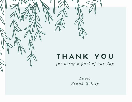 Thank You Postcard Template Best Of Customize 413 Thank You Card Templates Online Canva