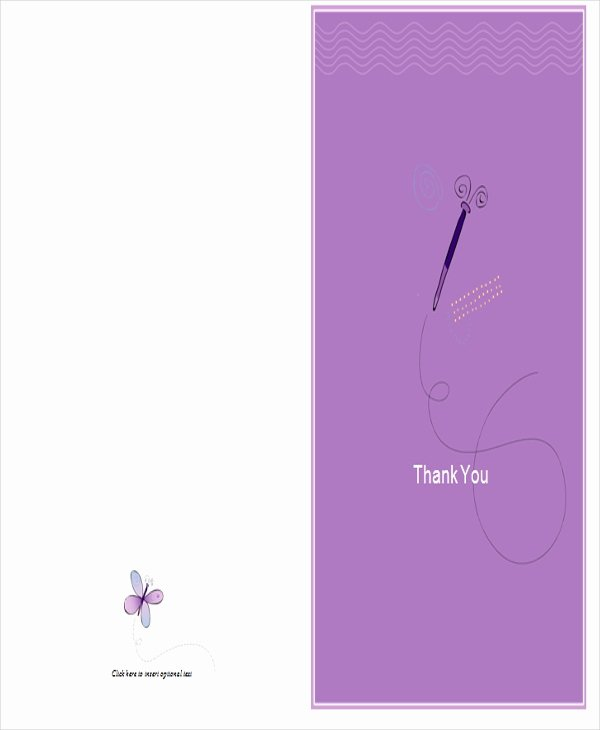 Thank You Postcard Template Inspirational 37 Thank You Letter In Word Templates