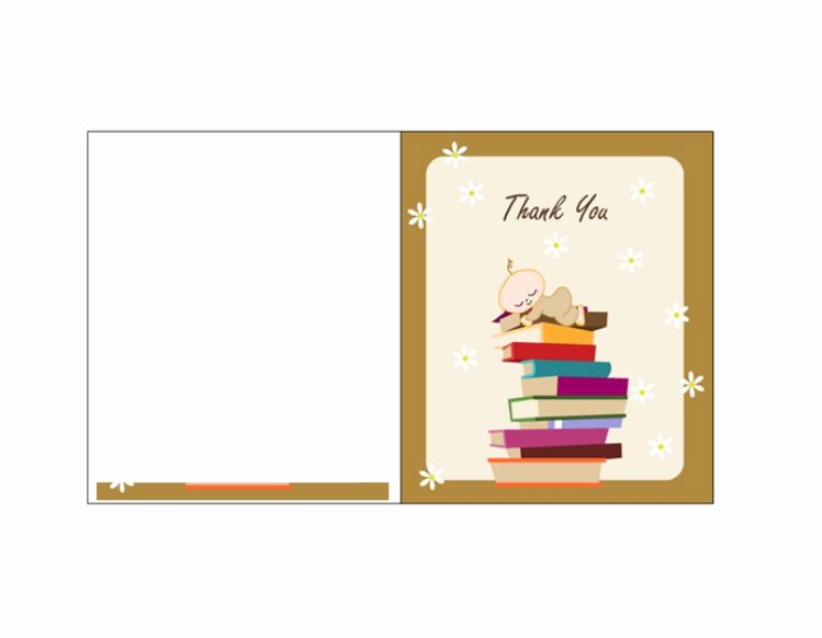 Thank You Postcard Template Lovely 30 Free Printable Thank You Card Templates Wedding