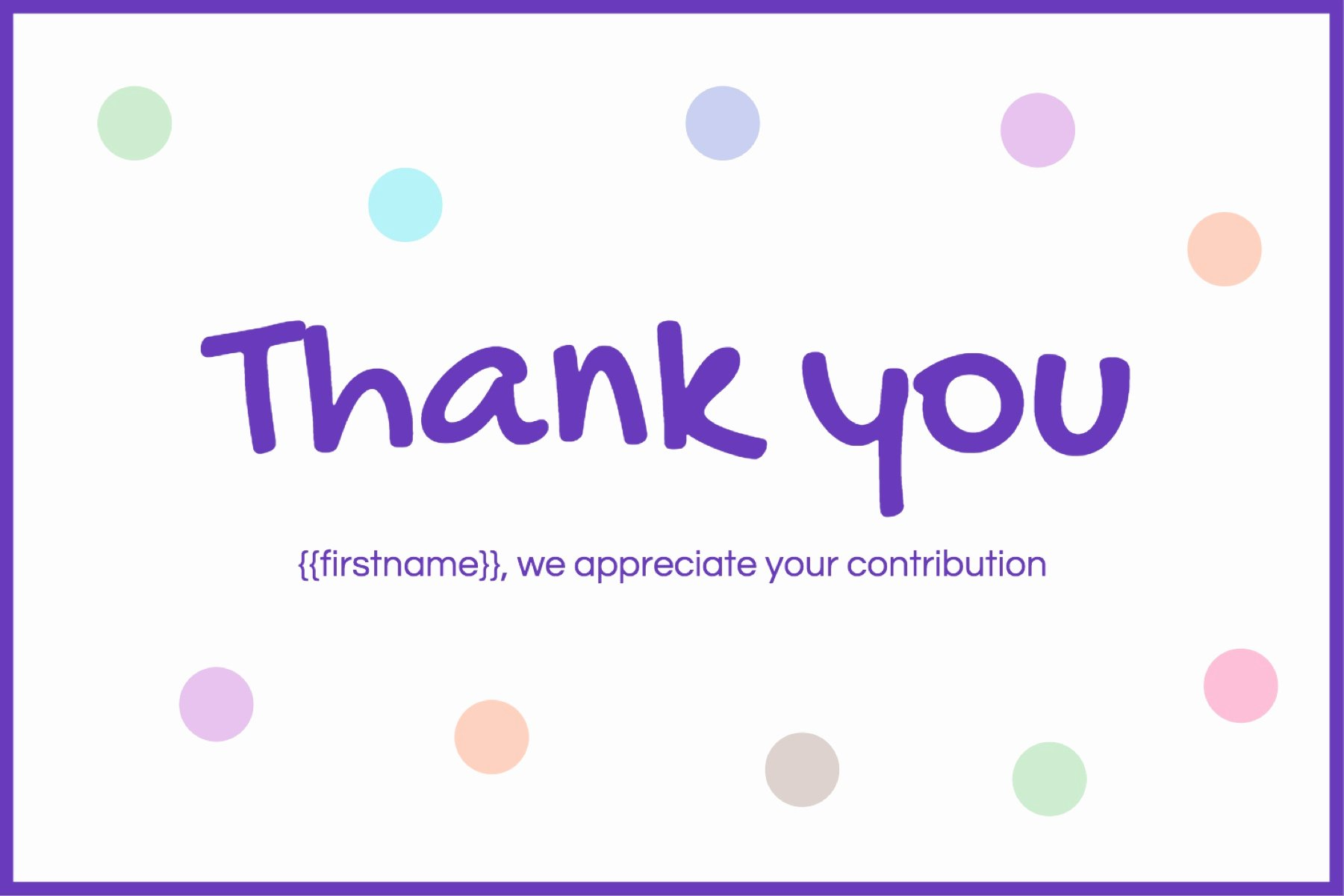 Thank You Postcard Template New Fun Thank You Free Postcard Template