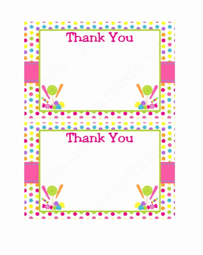 Thank You Postcard Template Unique 30 Free Printable Thank You Card Templates Wedding