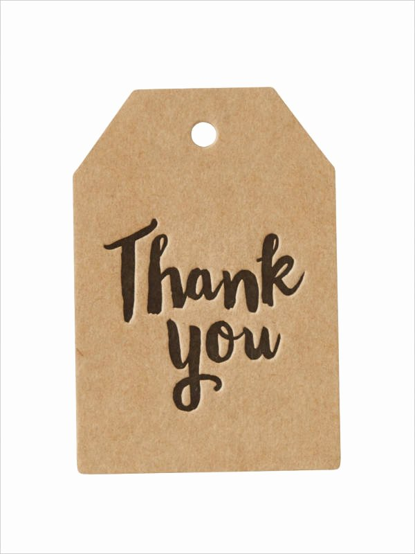 Thank You Tag Template Elegant Free Printable Gift Tag 8 Free Psd Vector Ai Eps