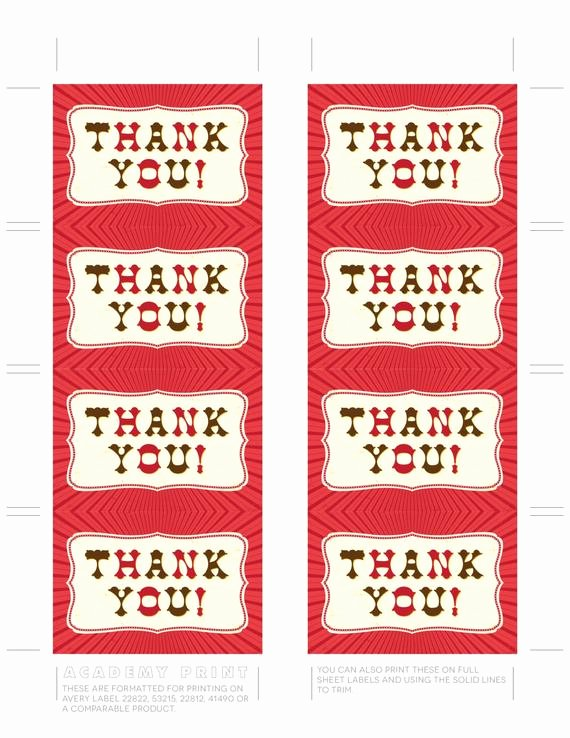 Thank You Tag Template Elegant Thank You Gift Tag Printable Thank You Tags Instant