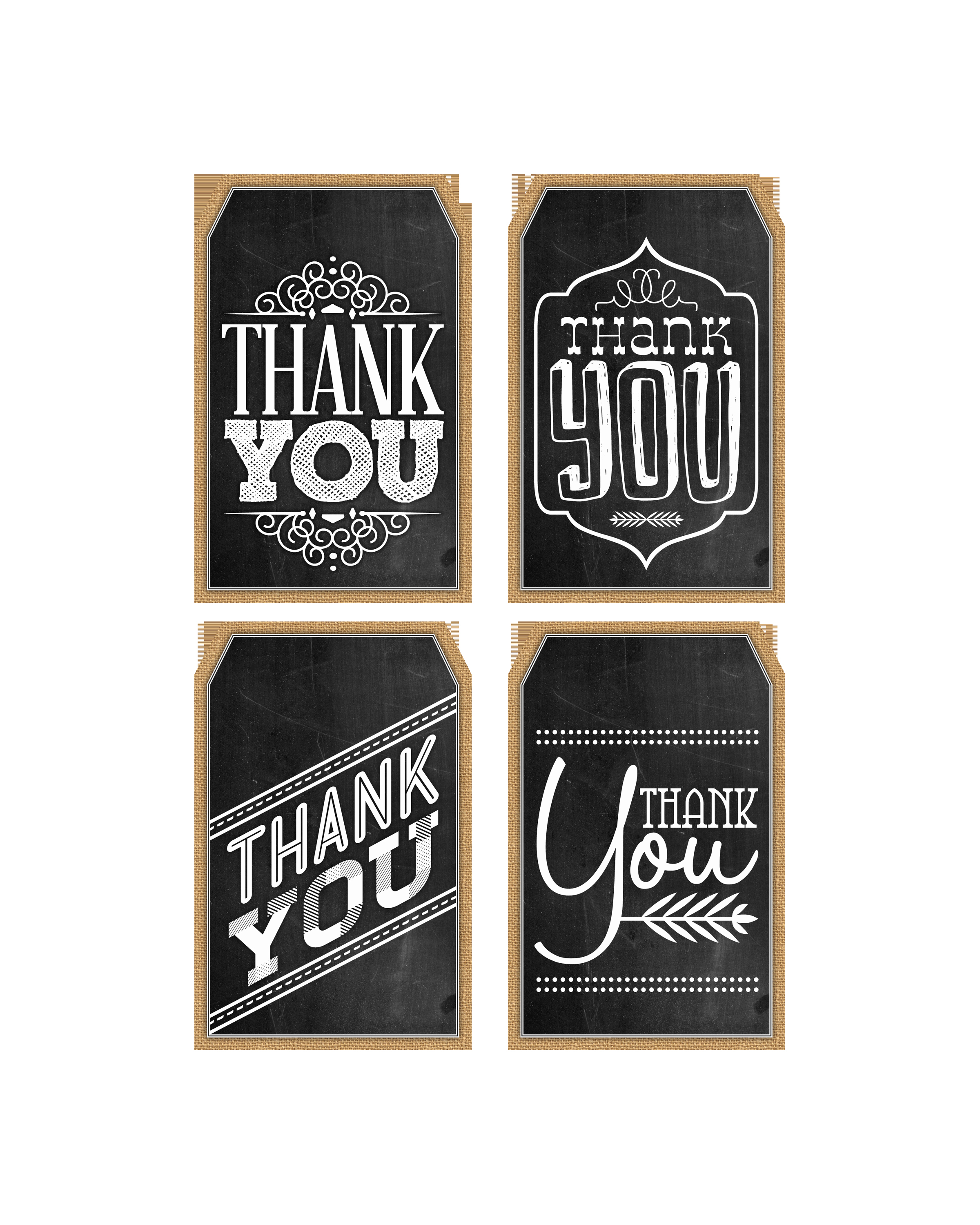 Thank You Tag Template Luxury Free Printable Thank You Chalkboard Tags & A Happy