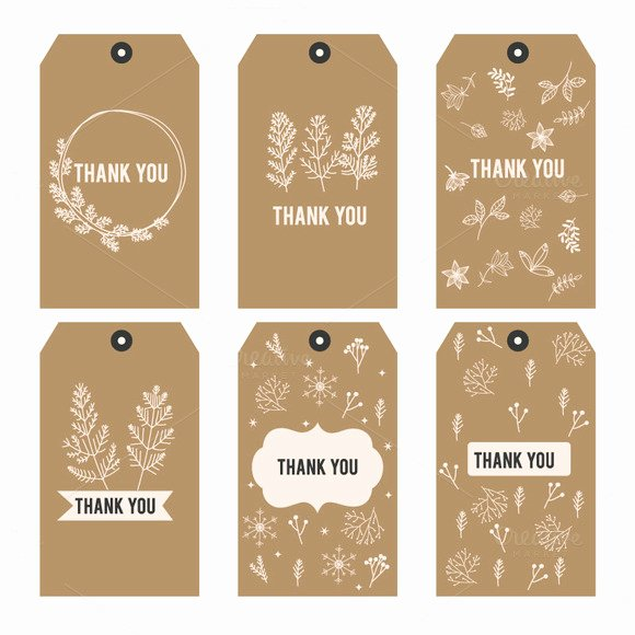 Thank You Tag Template New Template Thank You Printable Tags I Logotire