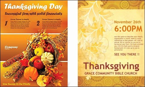 Thanksgiving Flyer Template Free Elegant 7 Best Of Free Printable Thanksgiving Flyers