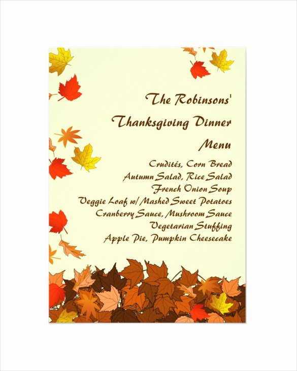 Thanksgiving Flyer Template Free Inspirational Thanksgiving Dinner Flyer Templates for Free – Happy
