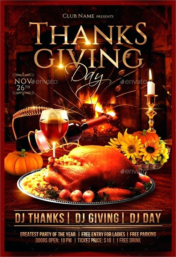 thanksgiving flyer template free happy thanksgiving flyer