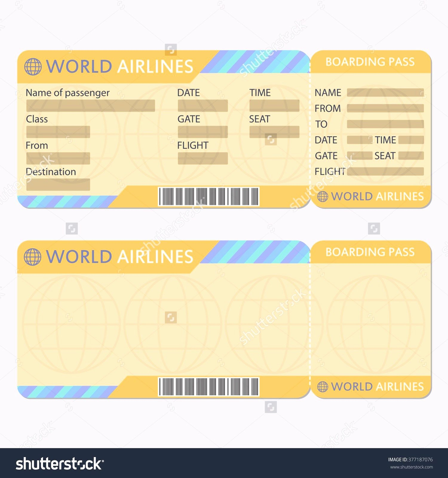 Ticket Maker Template Free Fresh Fake Airline Ticket Maker Portablegasgrillweber