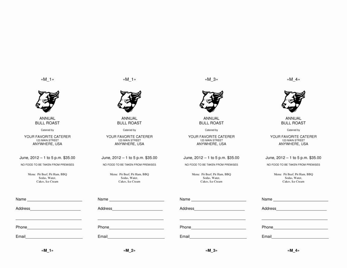 Ticket Template for Word Awesome 4 Microsoft Word Ticket Templates Word Excel Pdf formats