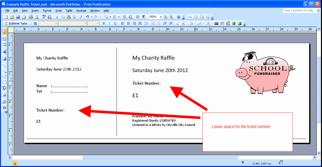 Ticket Template for Word Lovely Free Ticket Maker