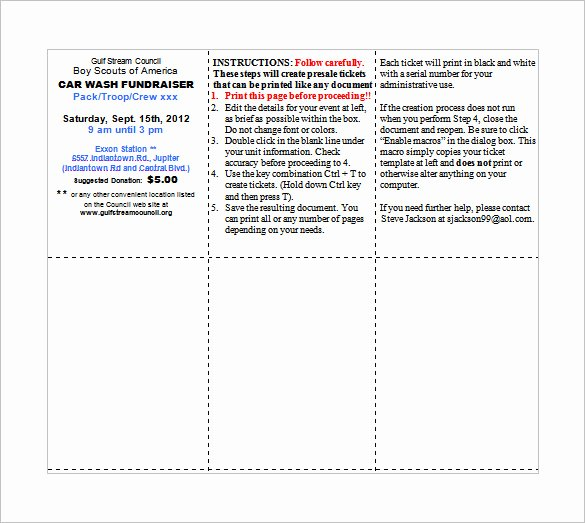 Ticket Template Microsoft Word Inspirational Ticket Templates – 99 Free Word Excel Pdf Psd Eps