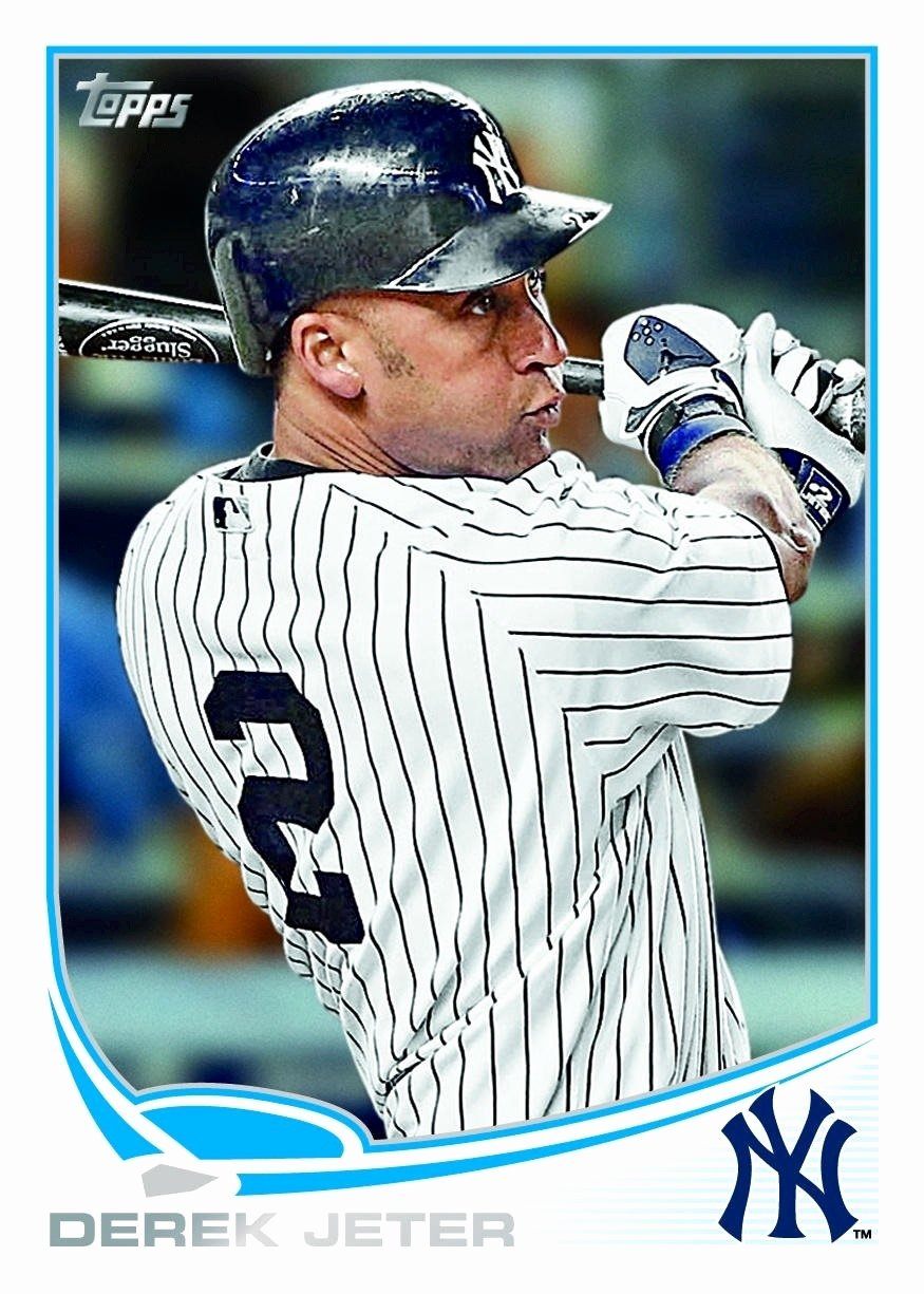 Topps Baseball Card Template Elegant topps Releases the 2013 Card Templates for Each Of the 30