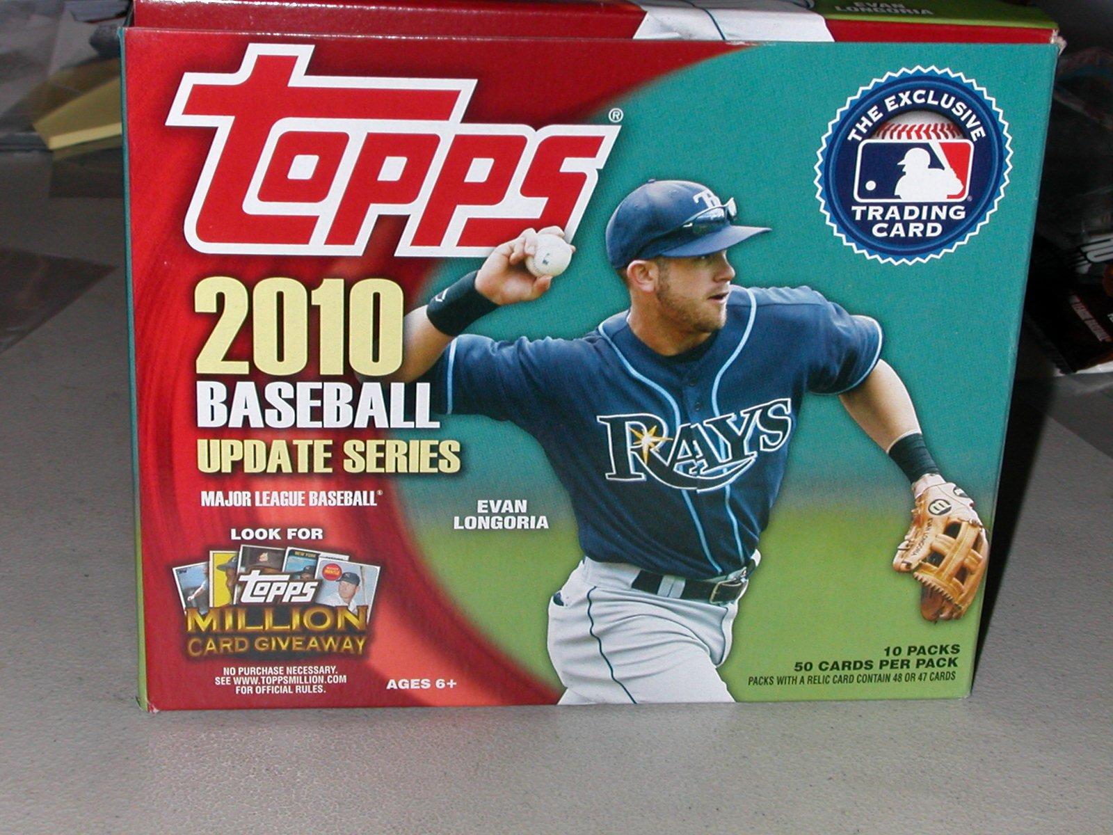 Topps Baseball Card Template New Ba Benny S Baseball Card Buffet 2010 topps Update Jumbo