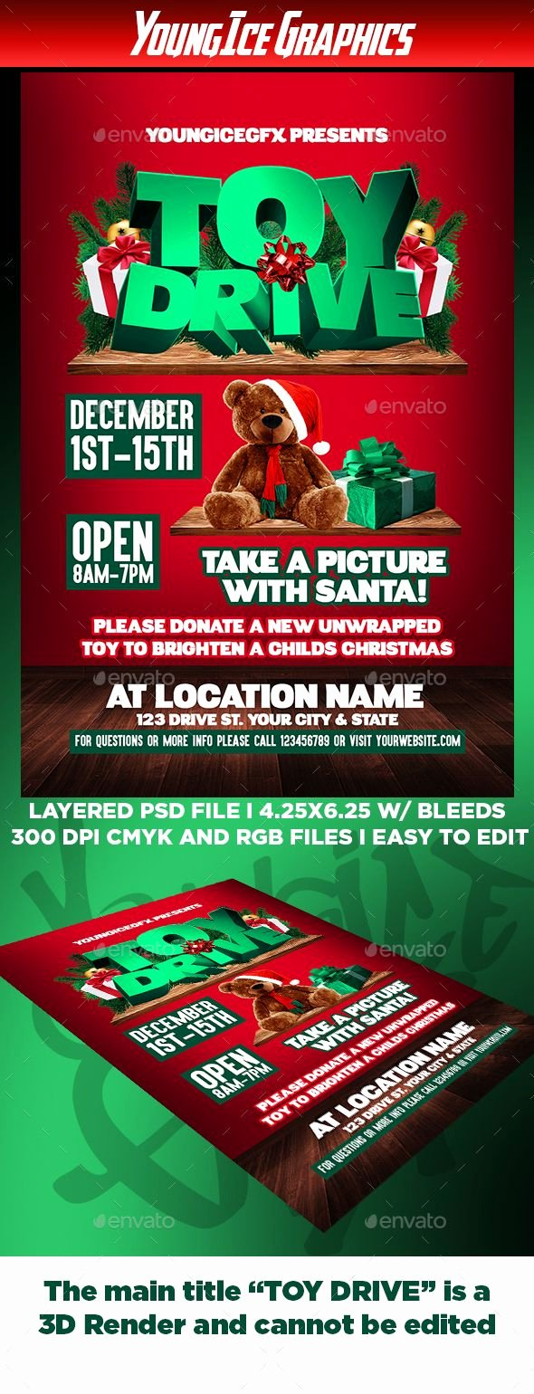 Toy Drive Flyer Template Best Of 229 Best Flayer Design Images On Pinterest
