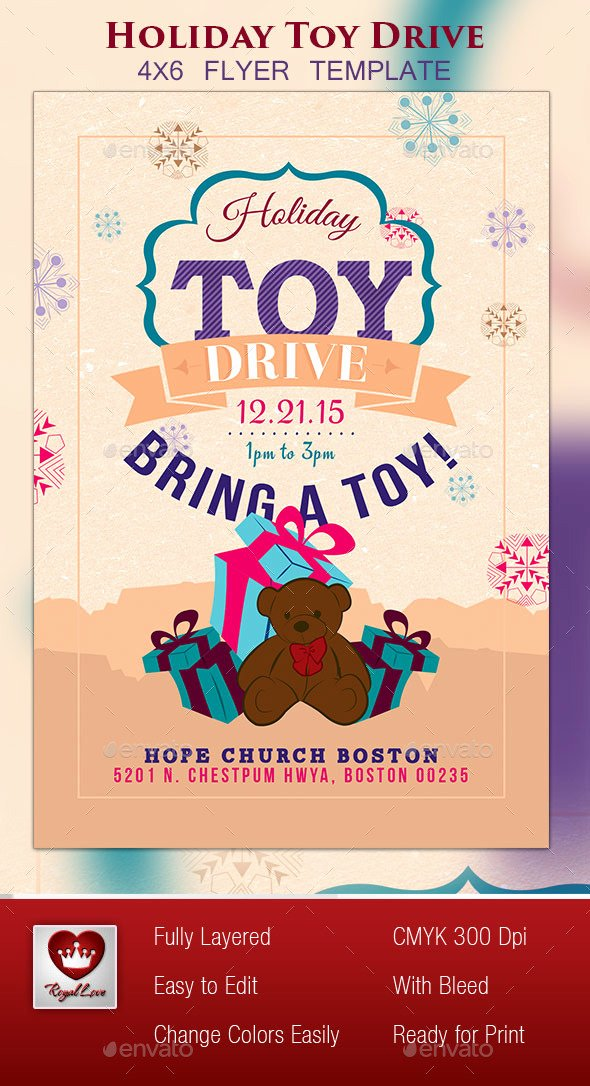 Toy Drive Flyer Template Best Of Free 50 50 Raffle Flyer Dondrup