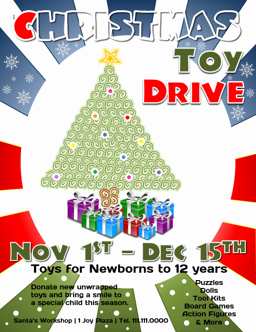 Toy Drive Flyer Template Fresh Download This Free Christmas toy Drive Flyer Template for