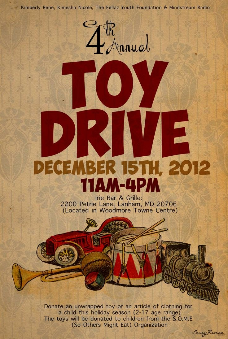 Toy Drive Flyer Template New 17 Best Images About toy Drive On Pinterest