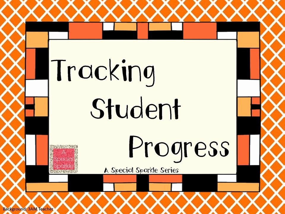 Tracking Student Progress Template Elegant A Special Sparkle An Easy Method for Collecting and