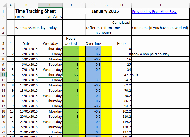 Tracking Volunteer Hours Template Fresh Excel Template Time Tracking Sheets Template Free by